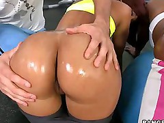 Bubble Huge ass -  we got Jessica Dawn, Julissa James on the go around shaking there big asses