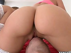 Rachel Starr and Nikki Stone  -  these two fine big asses here