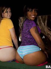 Admiration plus Roxi. These two ladies have retarded size big asses