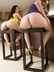 Alex Casio and Nikki Skye are completely out of this world near there huge asses and rock solid bodies
