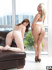 Summer and Lori Brooks are both scorching hot 2 elephantine big asses and 2 unqualified perky bosom  what more posterior you ask for in life