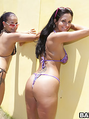 Super fine heavy butt Ava Addams plus Mega broad in the beam booty Miss Raquel
